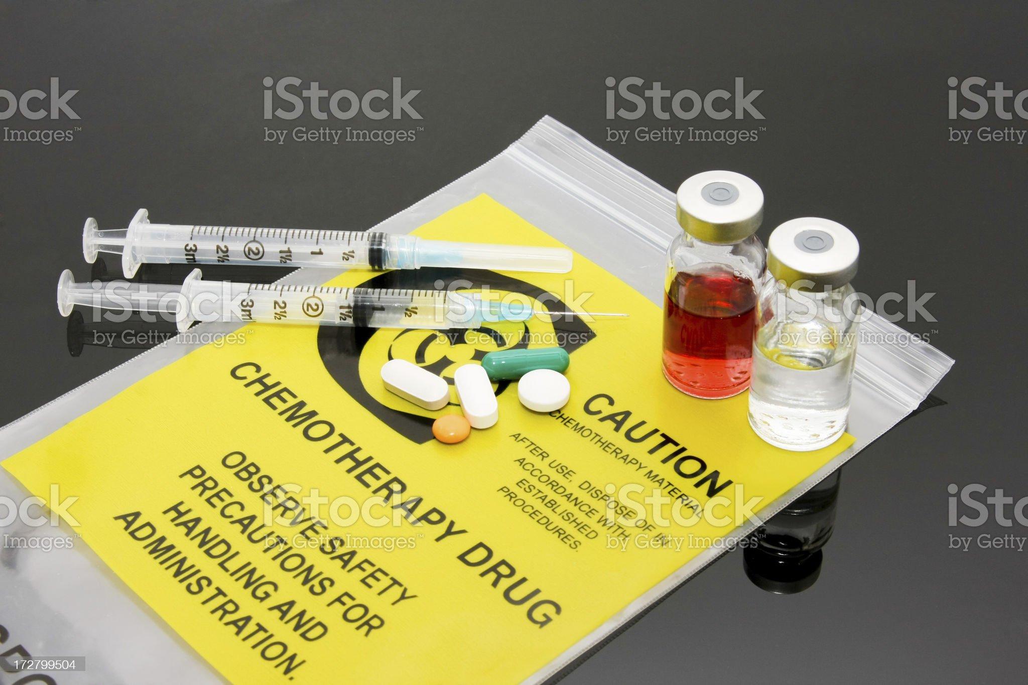 Chemotherapy royalty-free stock photo