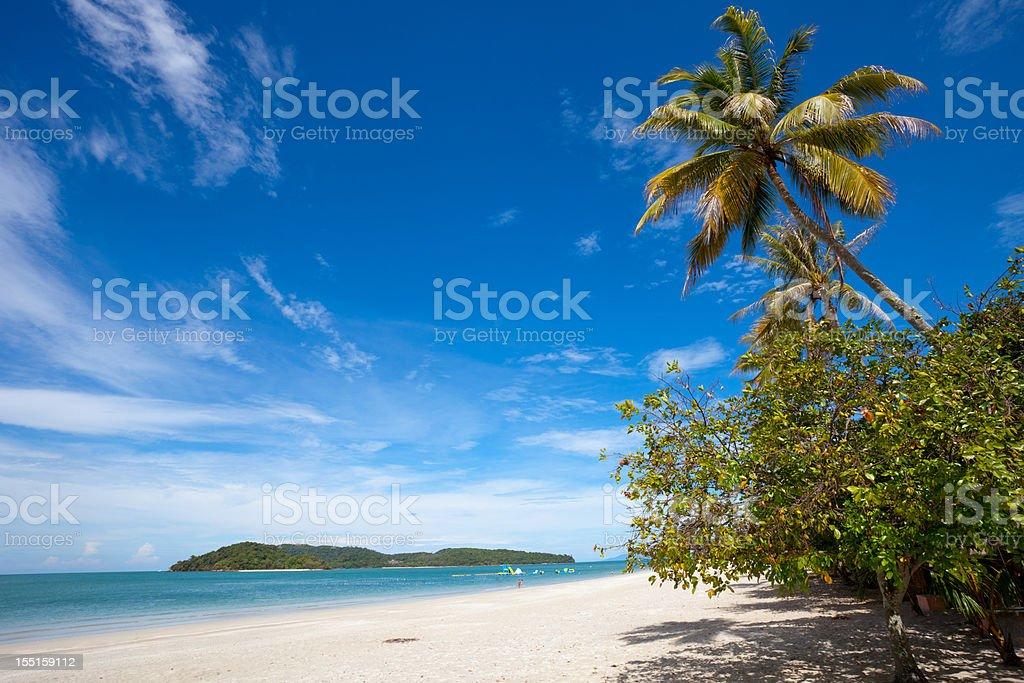 Chenang Beach Langkawi Island Malaysia stock photo
