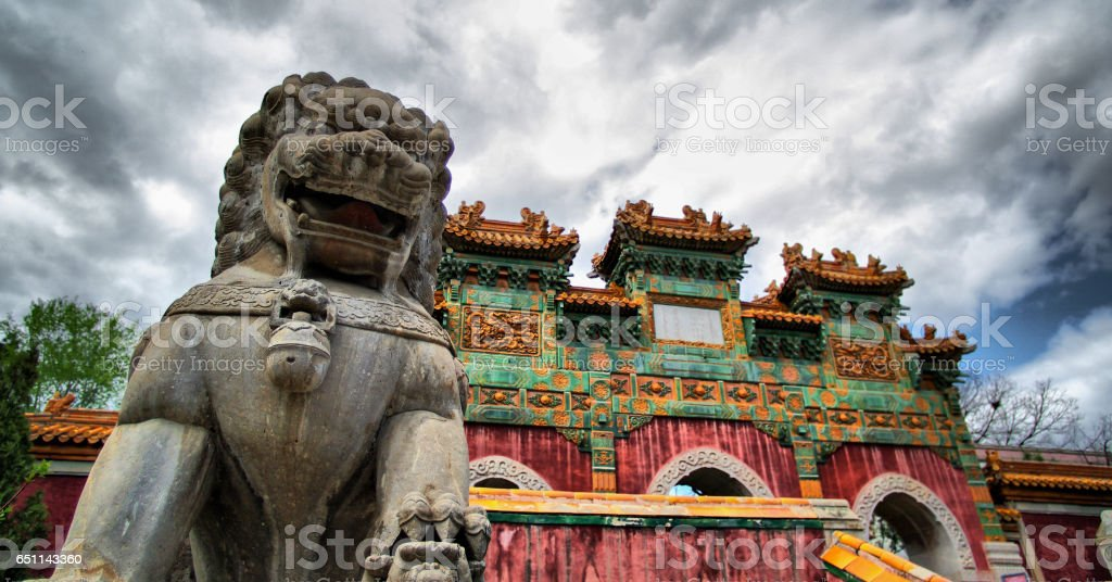 Chengde China stock photo