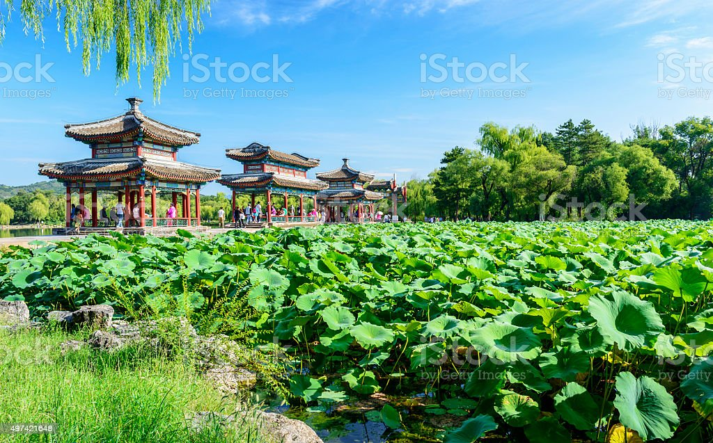 Chengde Mountain Resort stock photo