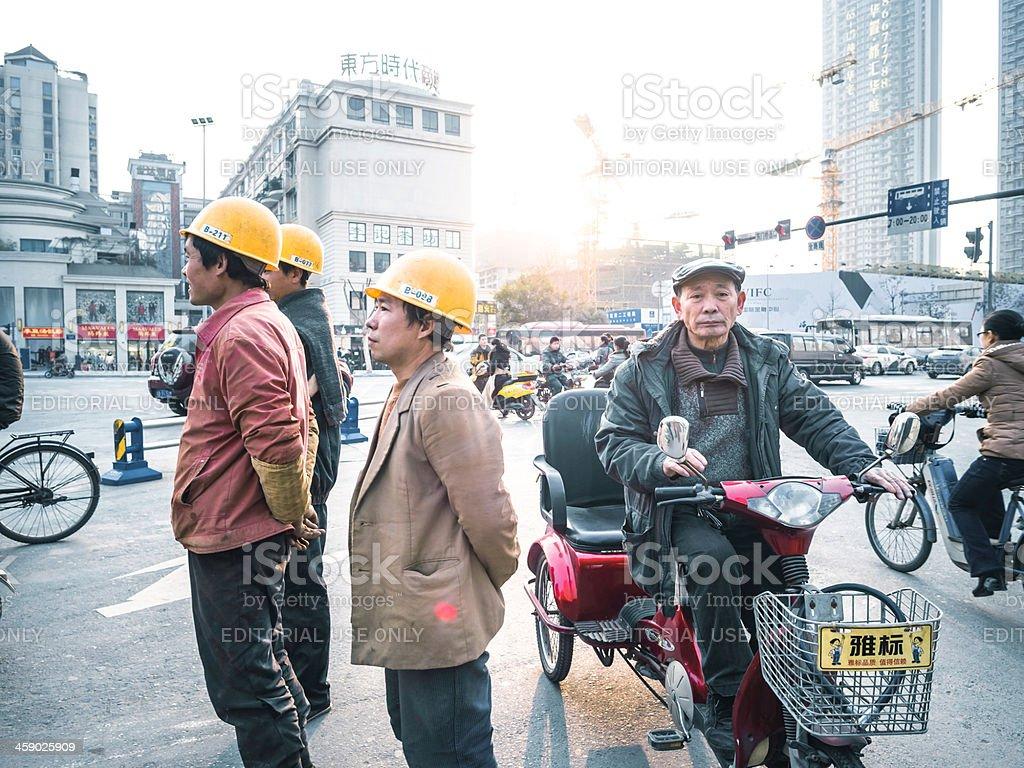 ChengDu financial street royalty-free stock photo