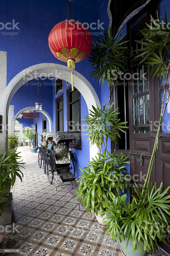 cheong fatt tze mansion georgetown penang malaysia royalty-free stock photo