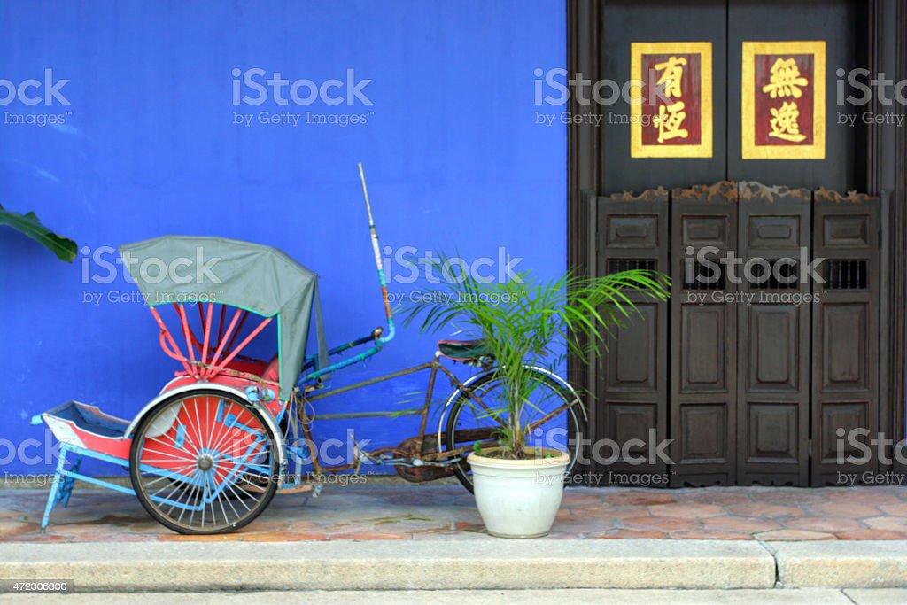 Cheong Fatt Tze Mansion, Penang, Malaysia stock photo