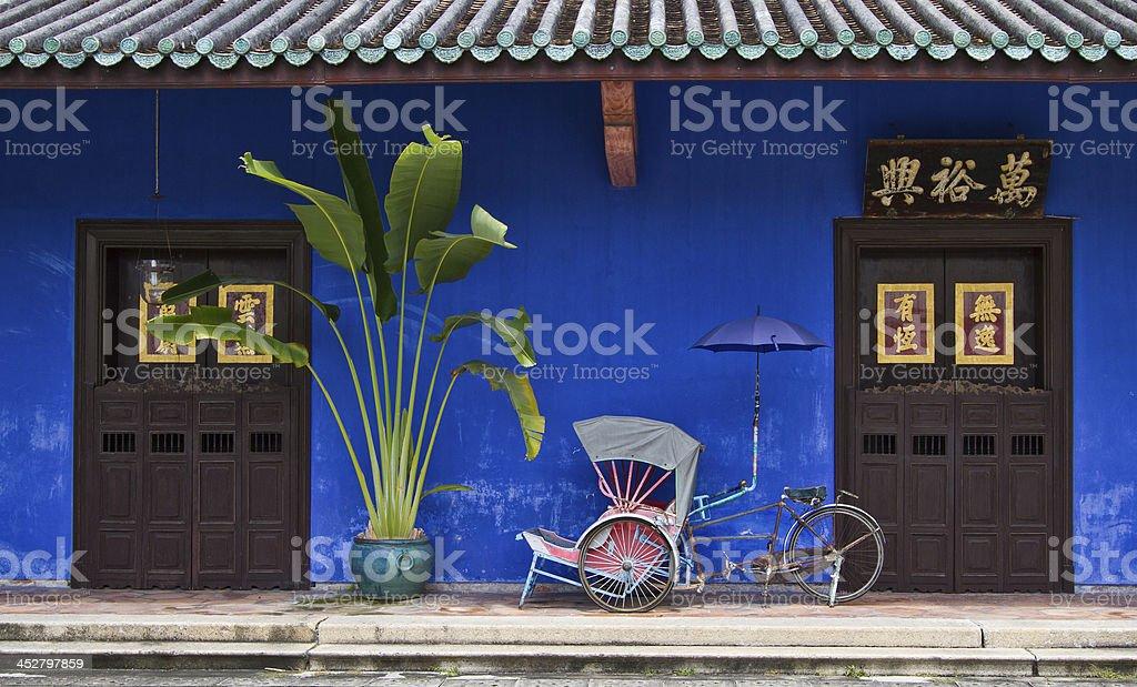 Cheong Fatt Tze the Blue mansion stock photo