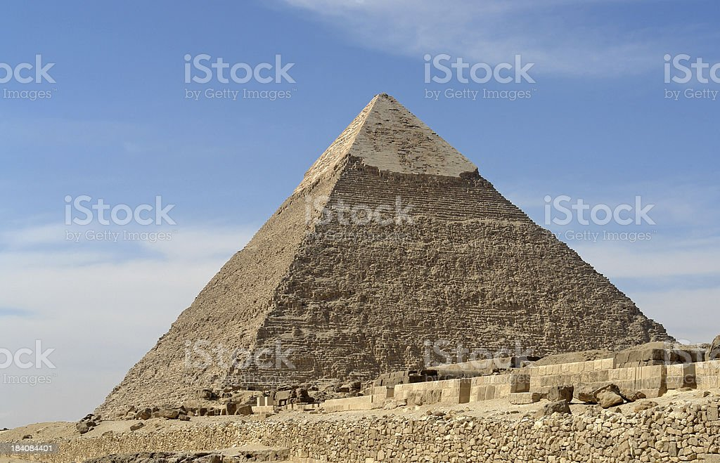 Chepren Pyramid royalty-free stock photo