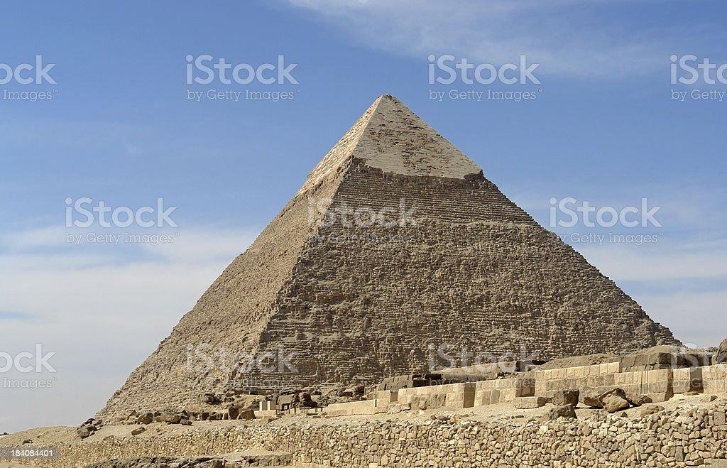 Chepren Pyramid royalty-free stock photo