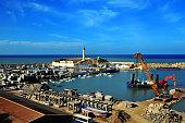 Cherchell, Algeria: harbor - general view