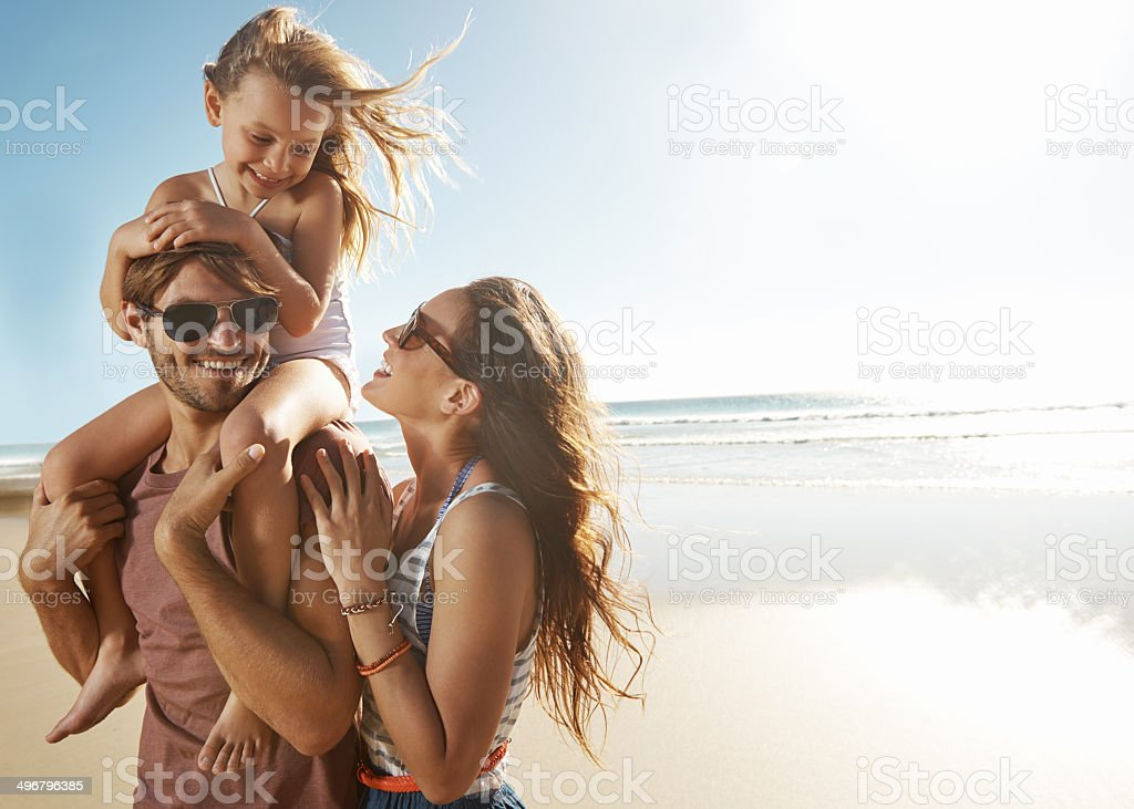 Cherish the simple things in life stock photo