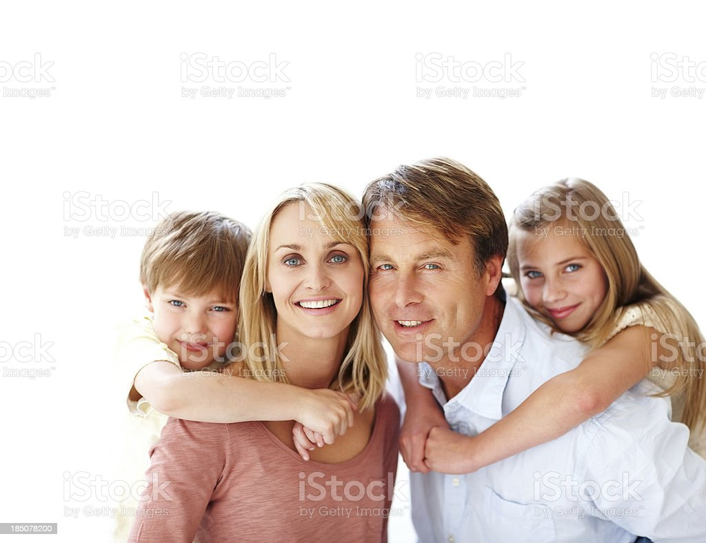 Cherished moments stock photo
