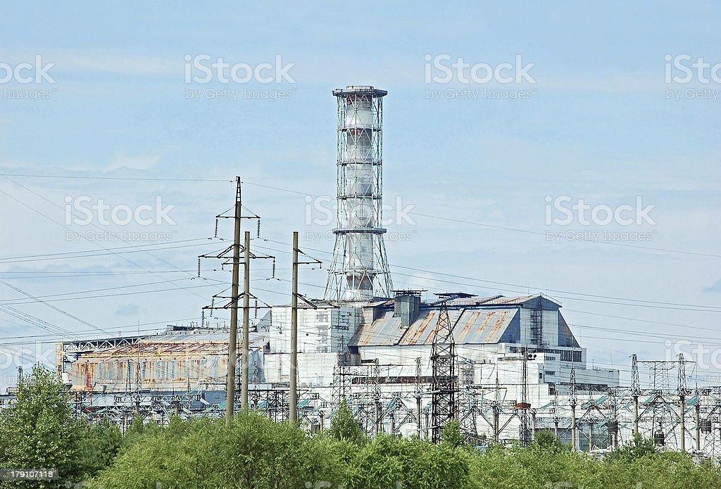 Chernobyl atomic power station royalty-free stock photo