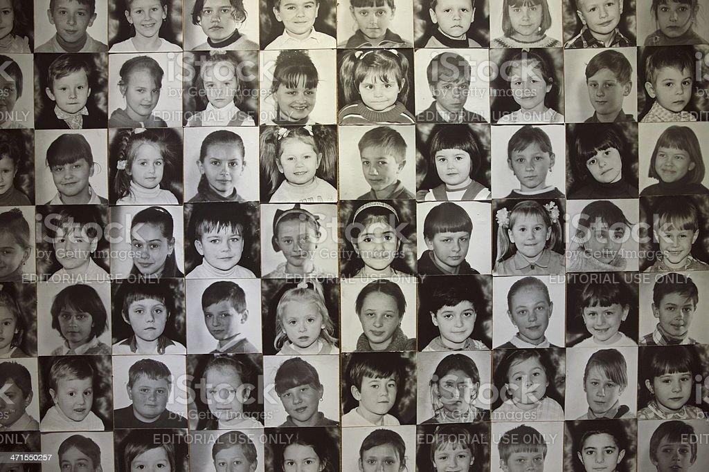 Chernobyl Children stock photo