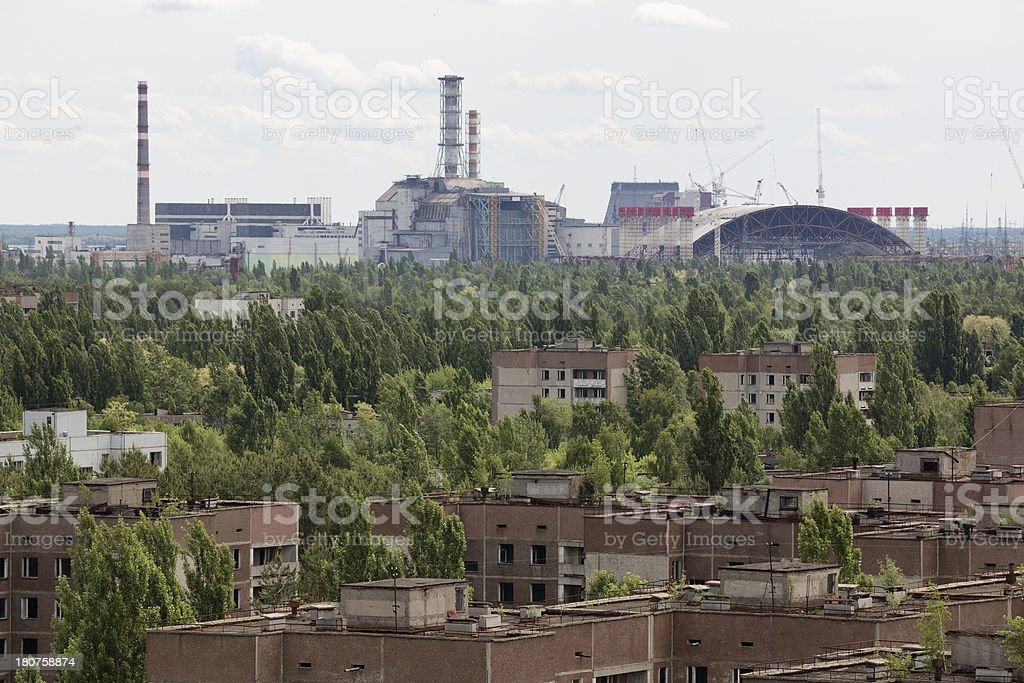 Chernobyl Nuclear Power Plant, Ukraine stock photo