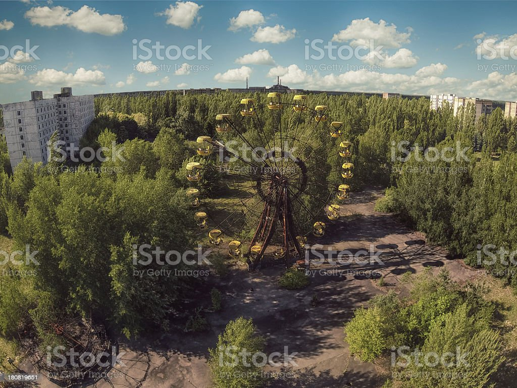Chernobyl stock photo