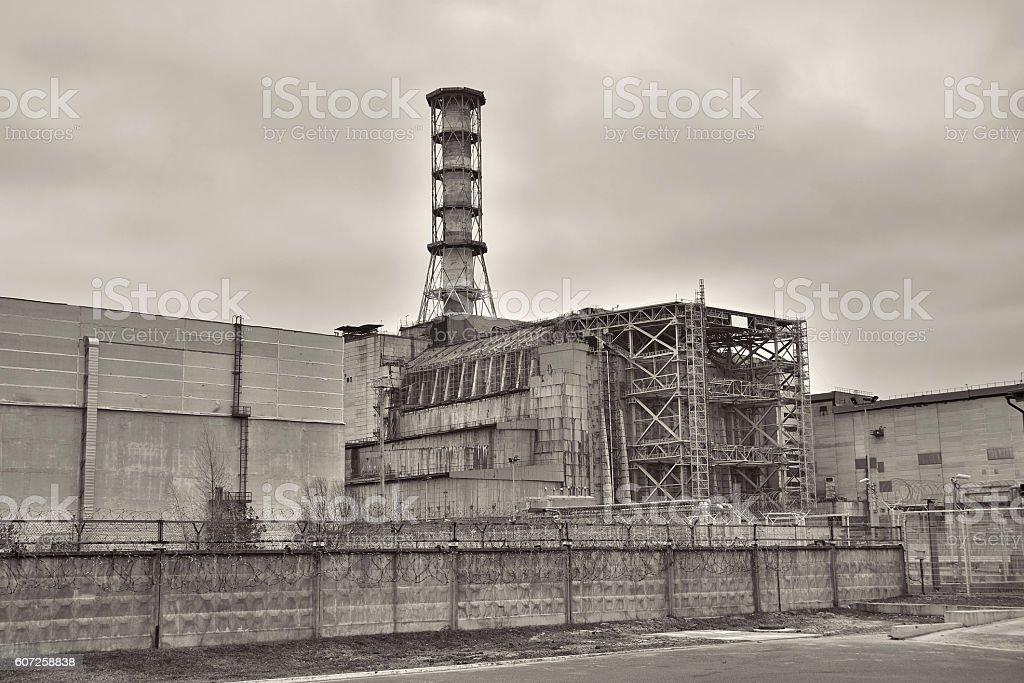 Chernobyl stock photo