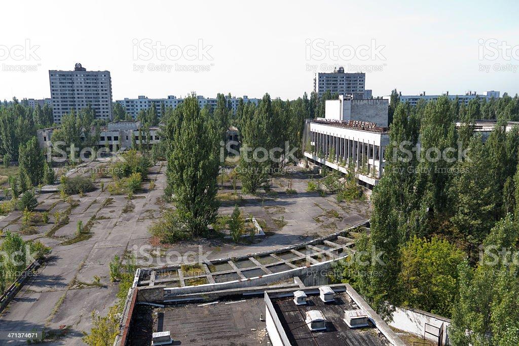 Chernobyl - Pripyat stock photo