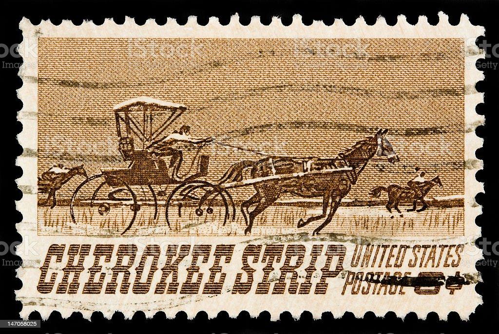 Cherokee Strip 1968 royalty-free stock photo