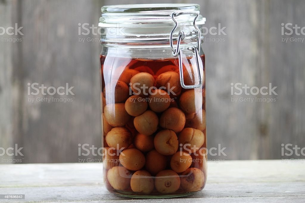 Cherries Canned stock photo