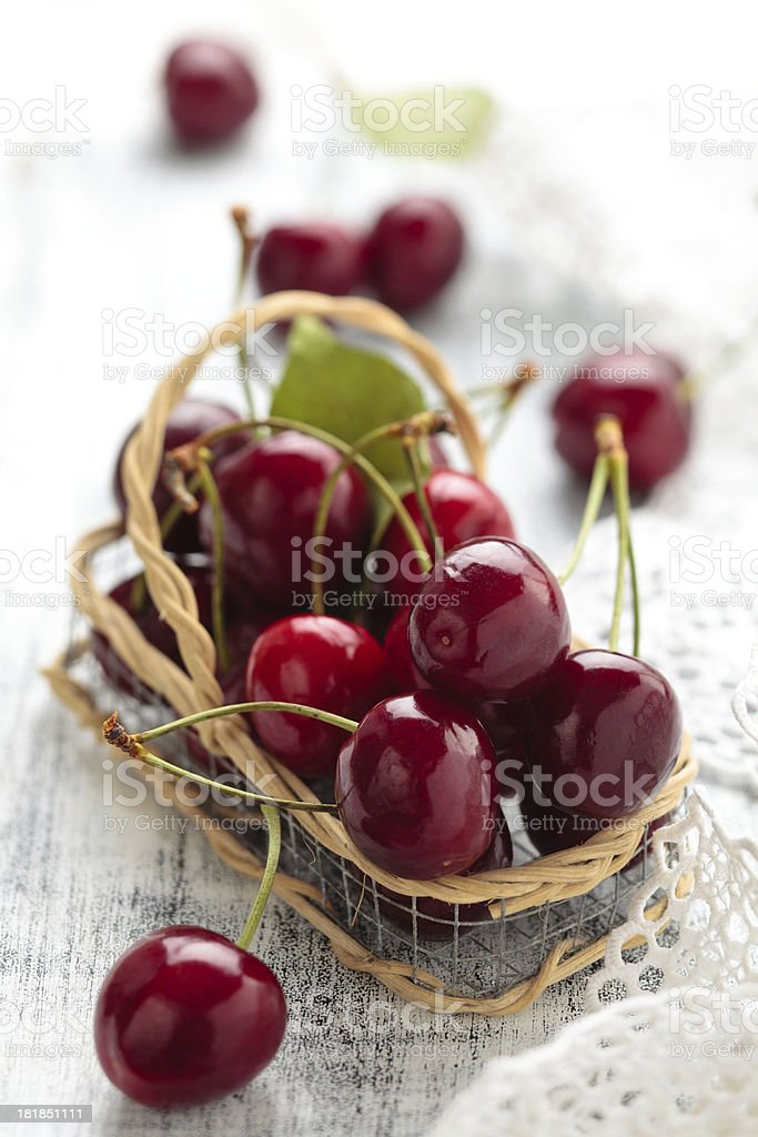 Cherries. royalty-free stock photo