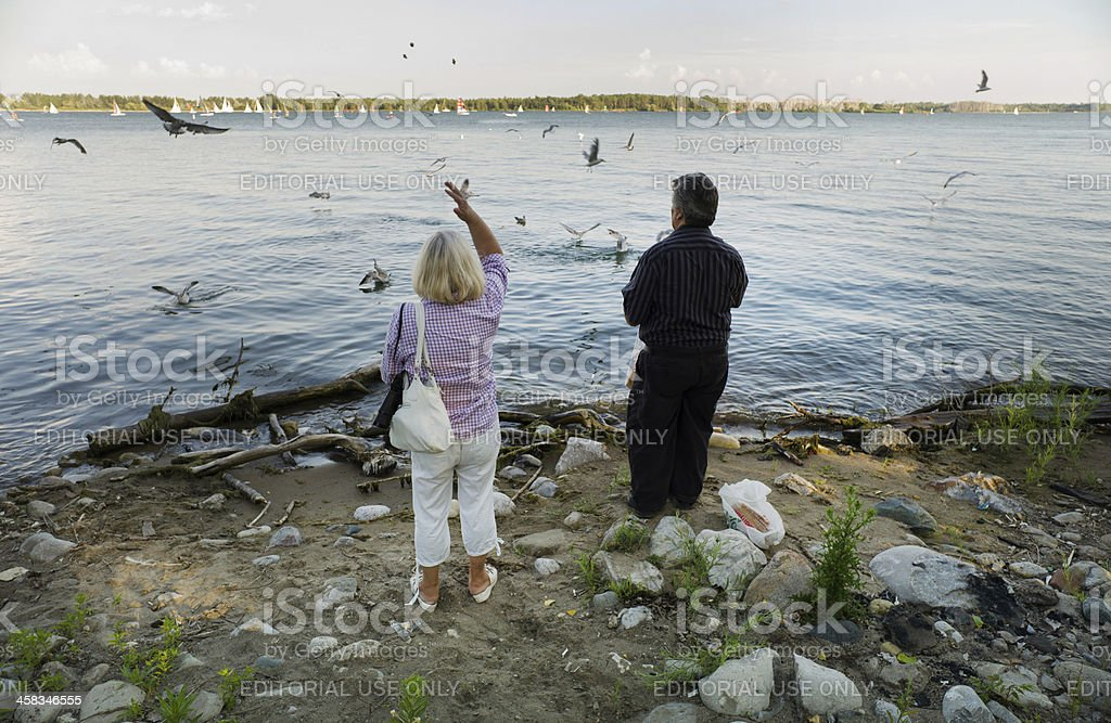 Cherry Beach , Toronto royalty-free stock photo