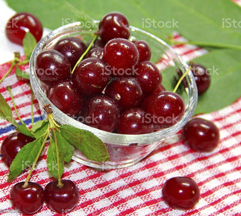 Cherry berries royalty-free stock photo
