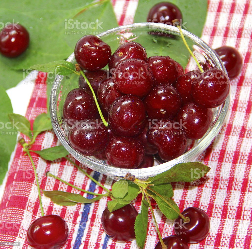 Cherry berries royalty-free stock photo