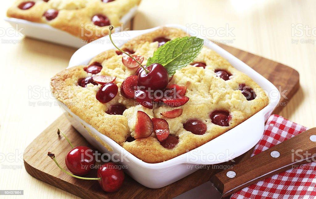 Вишнёвый пирог Стоковые фото Стоковая фотография