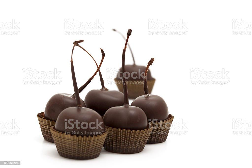 cherry chocolates royalty-free stock photo