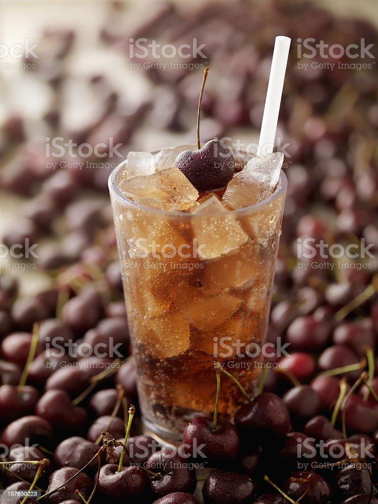 Cherry Cola royalty-free stock photo