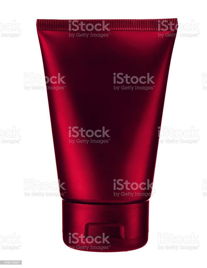 Cherry cosmetic tube royalty-free stock photo