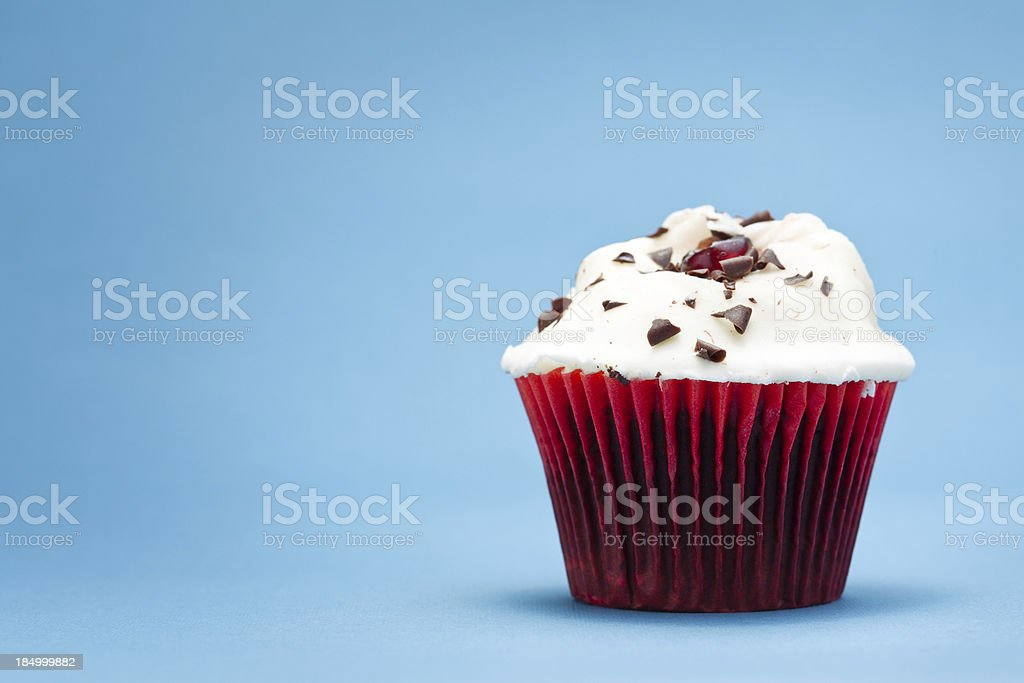 Cherry cupcake royalty-free stock photo