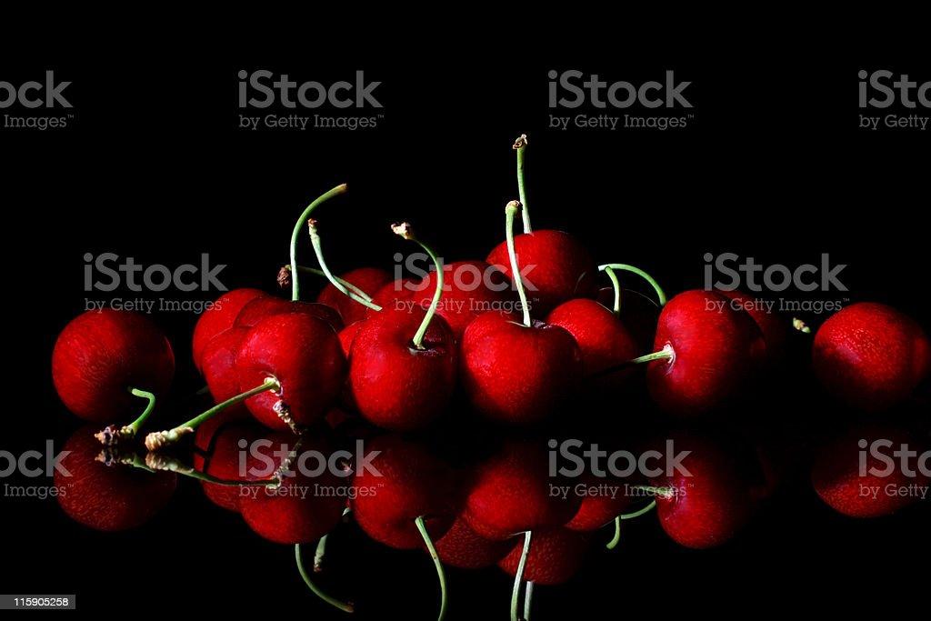 cherry delight stock photo