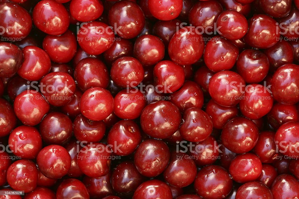 Cherry fruit background. royalty-free stock photo