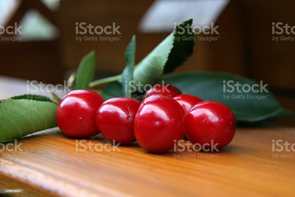 cherry fruit royalty-free stock photo