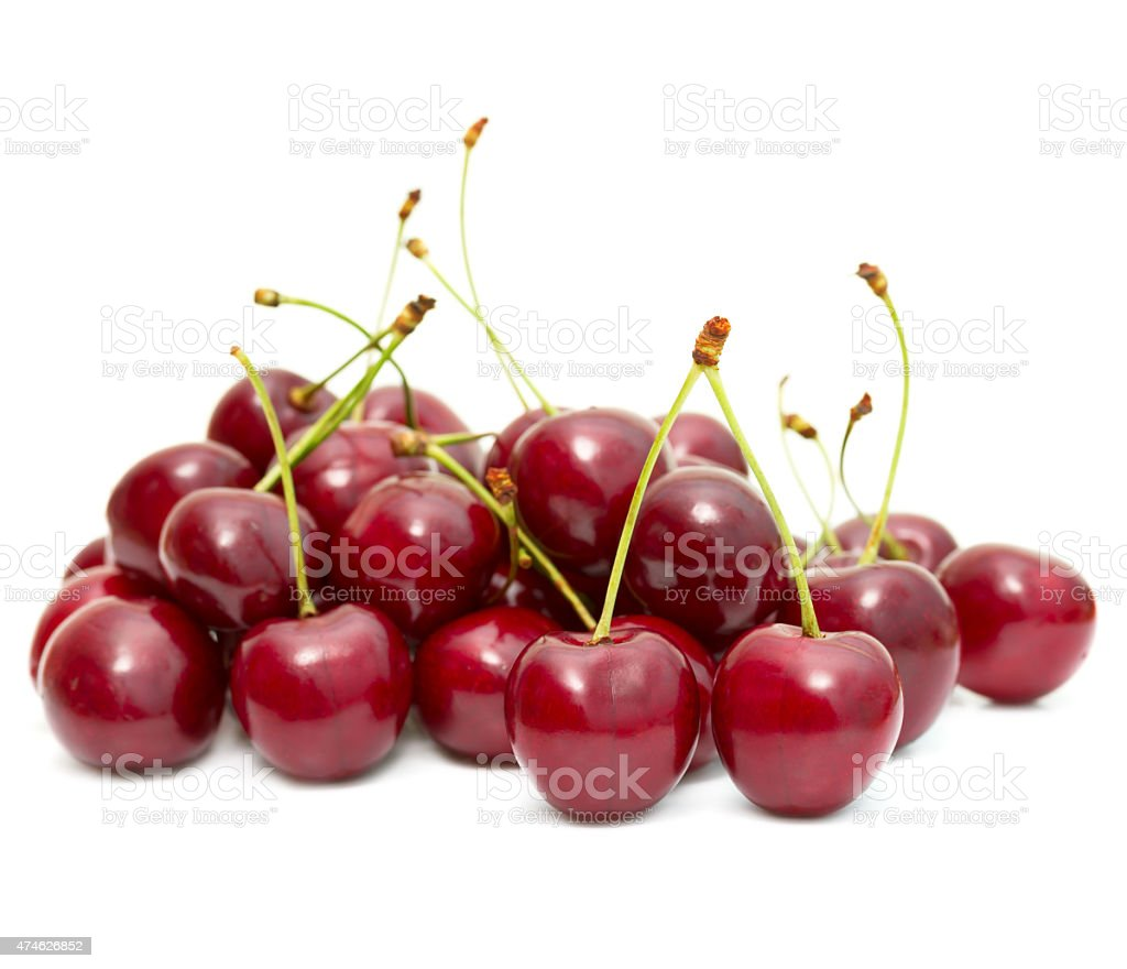 cherry fruit stock photo