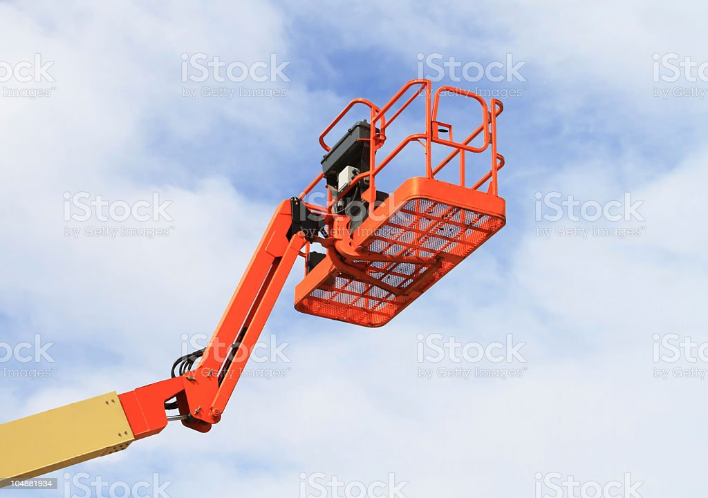 Cherry Picker royalty-free stock photo