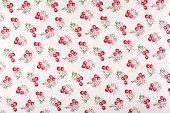 Cherry Pie Medium Antique Floral Fabric