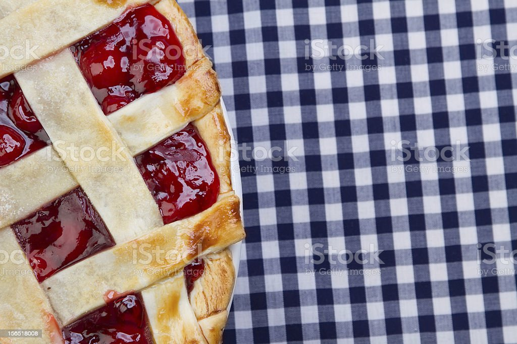 Cherry Pie royalty-free stock photo