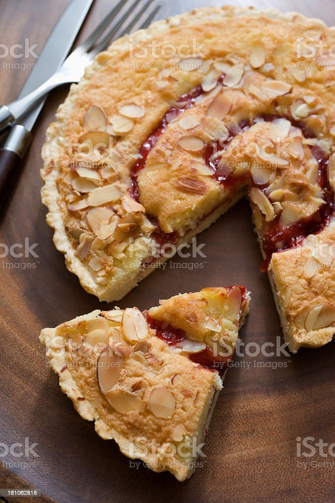 Cherry Tart royalty-free stock photo
