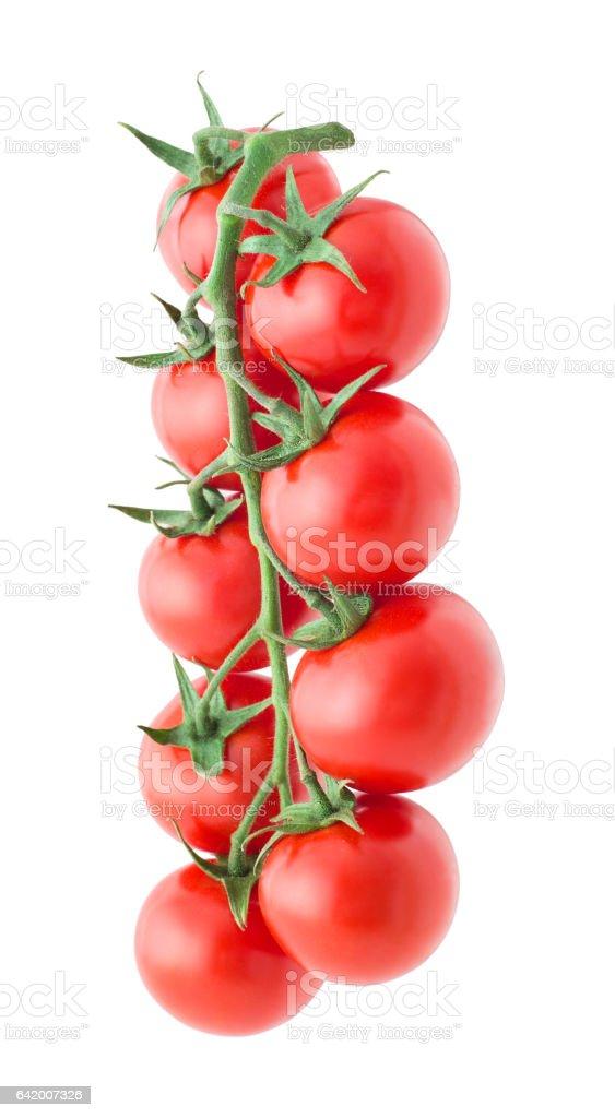 Cherry tomato , isolated stock photo
