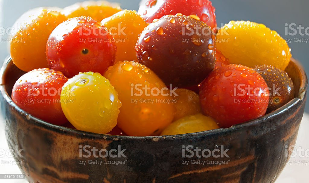 Cherry Tomato stock photo