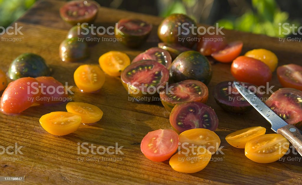 Cherry Tomatoes for Salad royalty-free stock photo