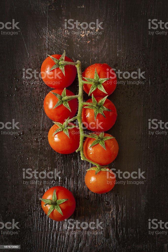 Cherry tomatoes. royalty-free stock photo