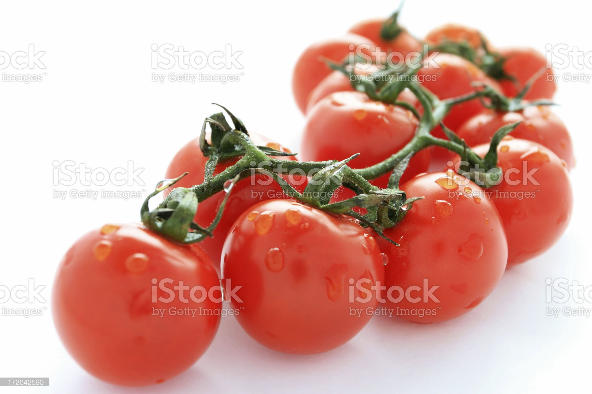 Cherry tomatoes. royalty-free stock photo