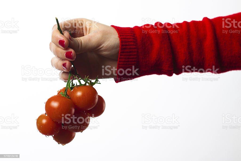 Kirschtomaten Tomaten Lizenzfreies stock-foto