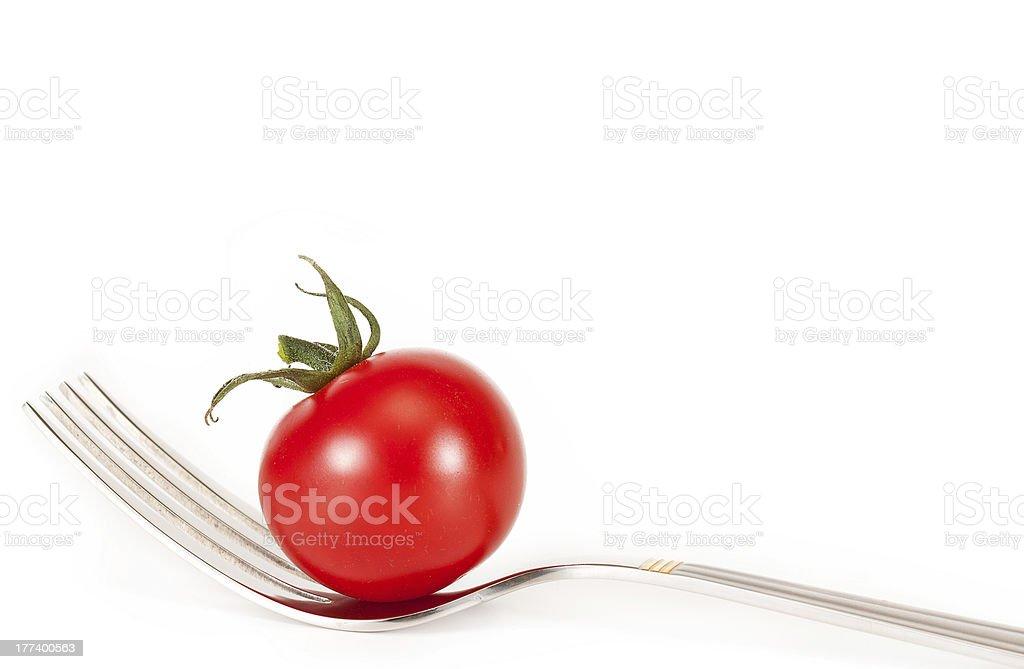 cherry tomatoes stock photo