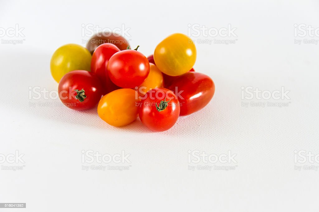 Cherry tomatoes. stock photo