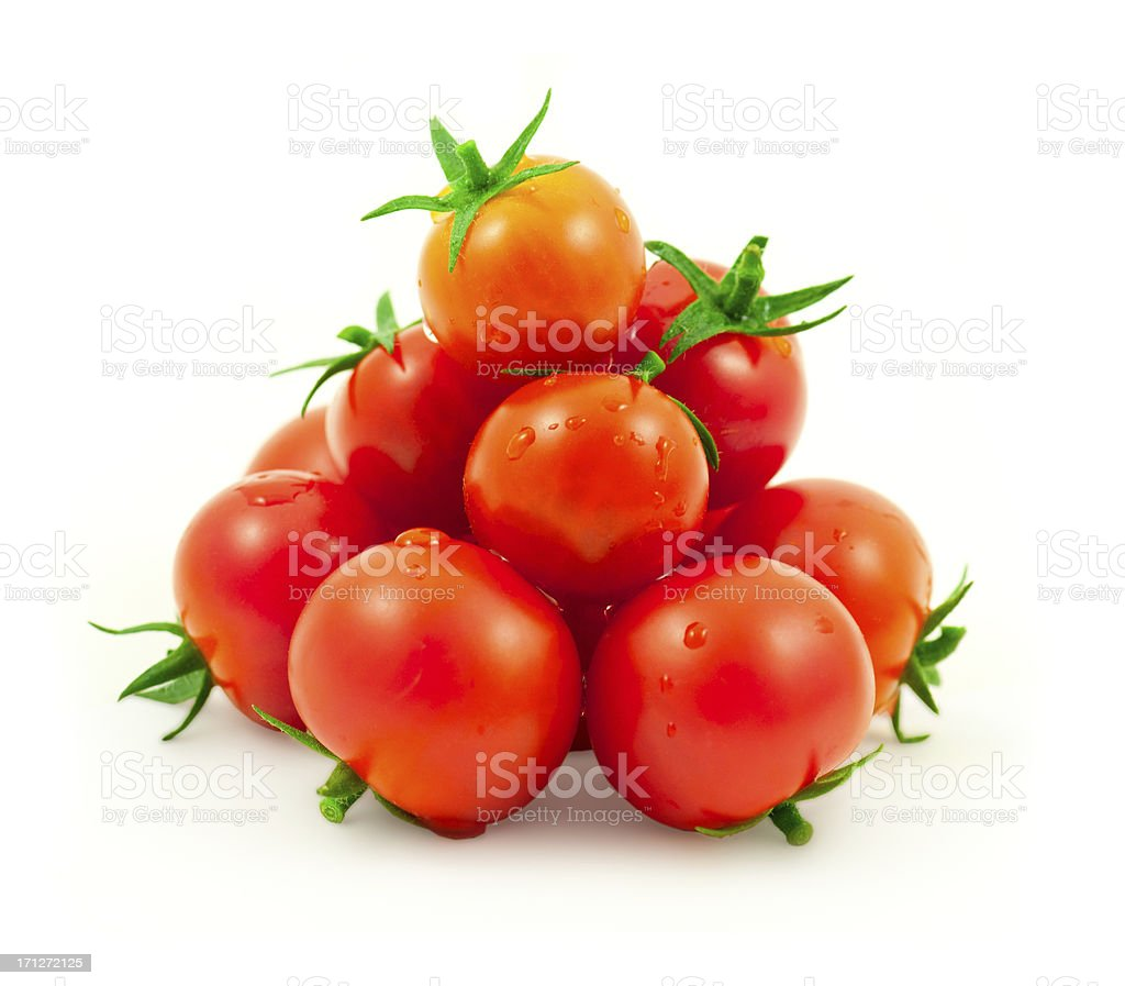 cherry tomatos royalty-free stock photo