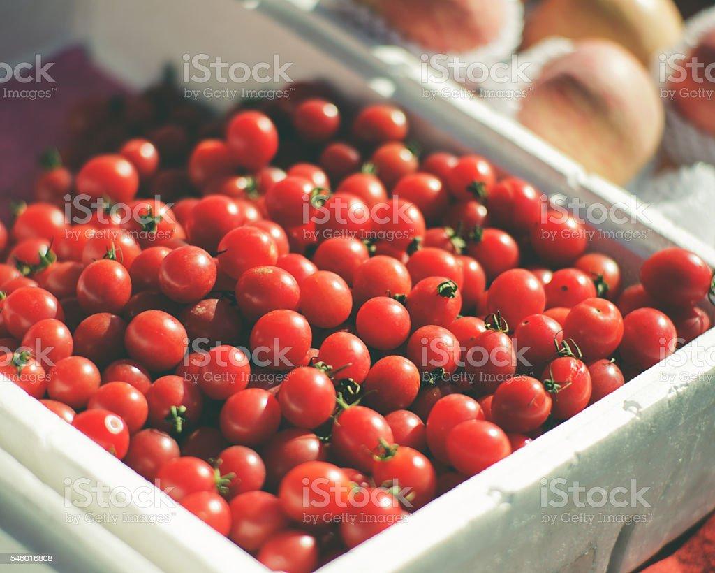Cherry Tomatos stock photo