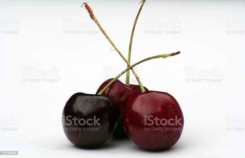 Cherry Trio royalty-free stock photo