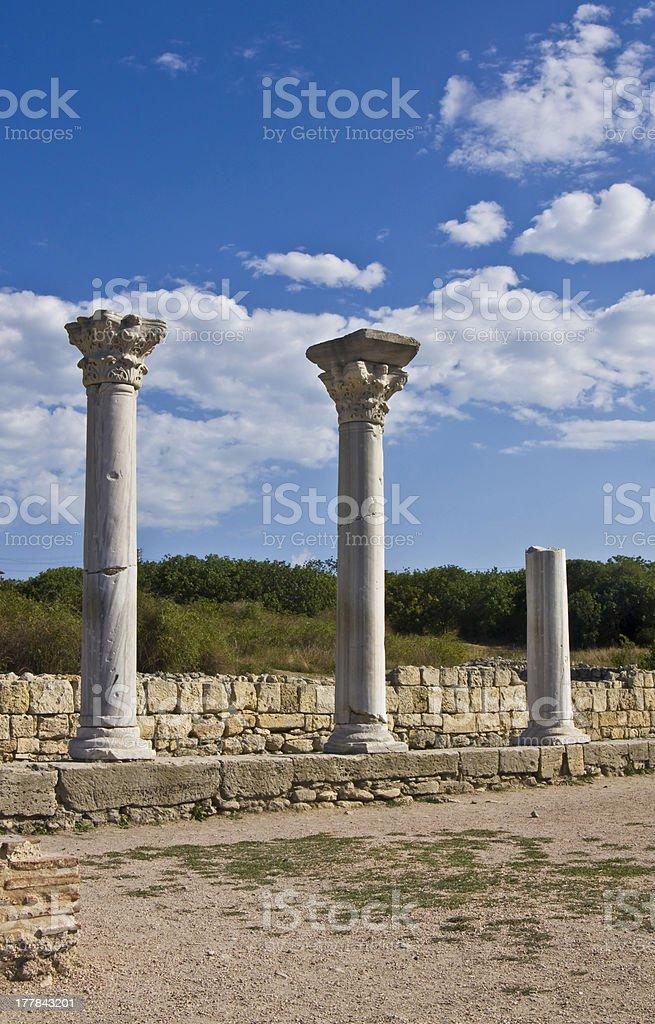 Chersonese, Crimea royalty-free stock photo